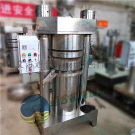 全自动液压香油机 ,芝麻香油机高效出油设备