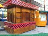 2021新款实木售賣車设计制造-找時景家具制造