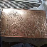 背景墙浮雕造型壁画铝板 铝板浮雕图案造型效果