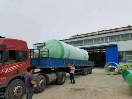农村改造一体化蓄水罐厂家玻璃钢沉淀池