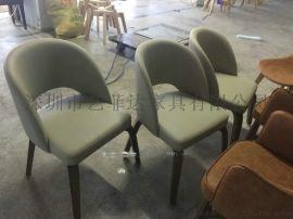 茶餐厅配套的实木餐椅定制,深圳餐厅椅子