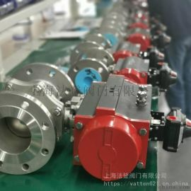上海法登气动双相  阀,高平台球阀
