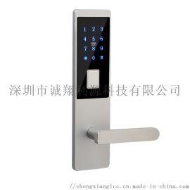 2020年热销 钛铝合金公寓密码锁 智能公寓APP刷卡密码锁 机械密码锁