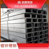 鍍鋅槽鋼鋼結構工字鋼型材大量現貨