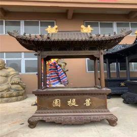 昌東工藝鑄鐵長方形平口香爐 寺院圓形平口香爐廠家