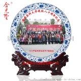 訂製同學聚會紀念品瓷盤,同學聚會紀念盤印照片
