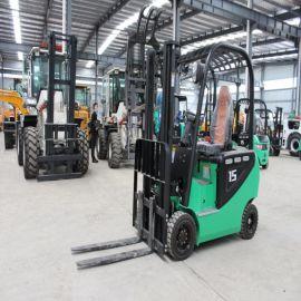 环保电动叉车 生产厂家 2吨电动叉车 四轮座驾式搬运车