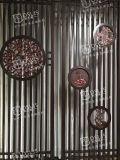 广州中式不锈钢雕花屏风酒店会议室屏风欧式不锈钢屏风
