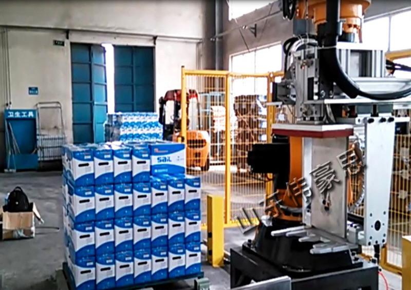 机器人拆垛设备 全自动长箱拆垛机械手