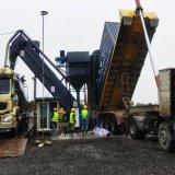 通畅集装箱卸灰机 辽宁码头煤灰卸车机 集装箱拆箱机