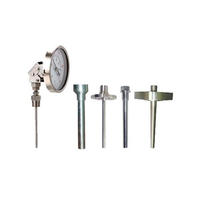 神華廠家直銷熱套式雙金屬溫度計