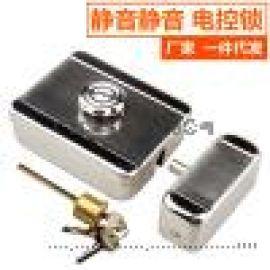 华马静音电控锁单元门电磁锁电锁电机锁电子门锁