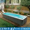 昆明花园户外泳池-恒温泳池设备-无边际冲浪泳池