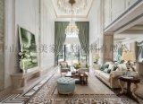 寶億居集成牆面打造藝術空間,讓家居華麗變身