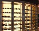 鑫品 廠家直銷 不鏽鋼酒櫃制品鈦金不鏽鋼  架