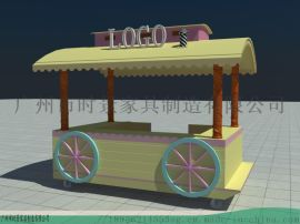 北京餐车-商业广场美食售 车-果汁特色小吃零售花车