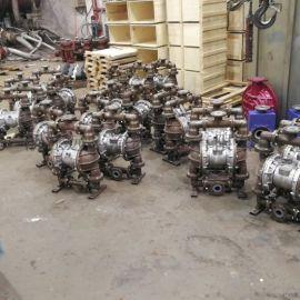厂家QKB衬 气动隔膜泵耐酸碱防腐耐磨
