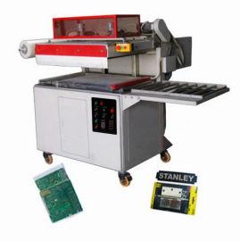 中山自动贴体包装机铁锁薄膜包装机可配合流水线作业