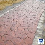 水泥压膜地坪 彩色水泥压膜地坪 水泥压膜地坪施工