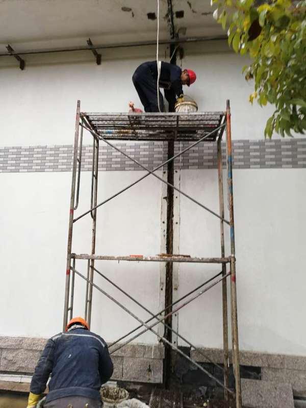 新建水池伸縮縫漏水高壓注漿堵漏