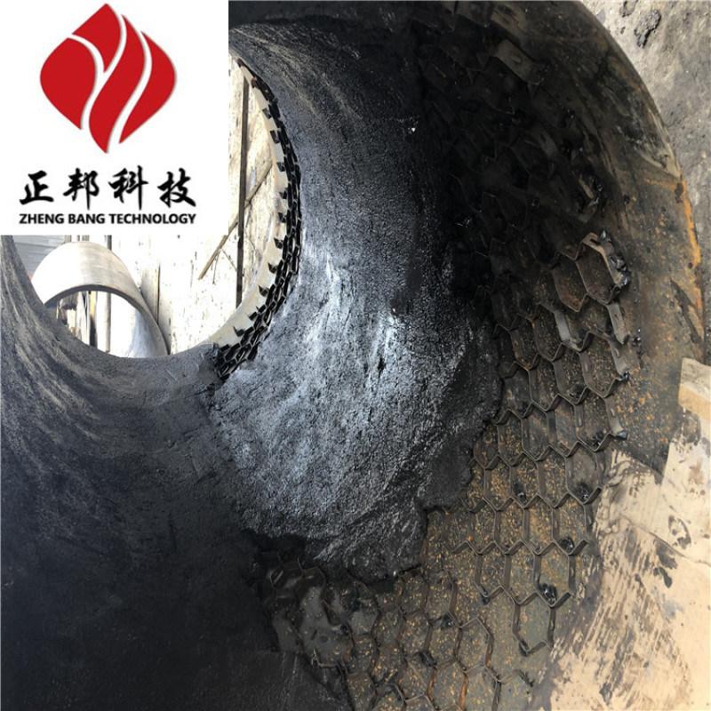 龟甲网防磨胶泥 高温耐磨胶泥