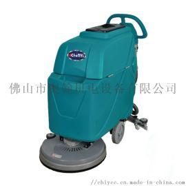 臣艺手推式商用吸拖一体擦地洗地车 交流电洗地机