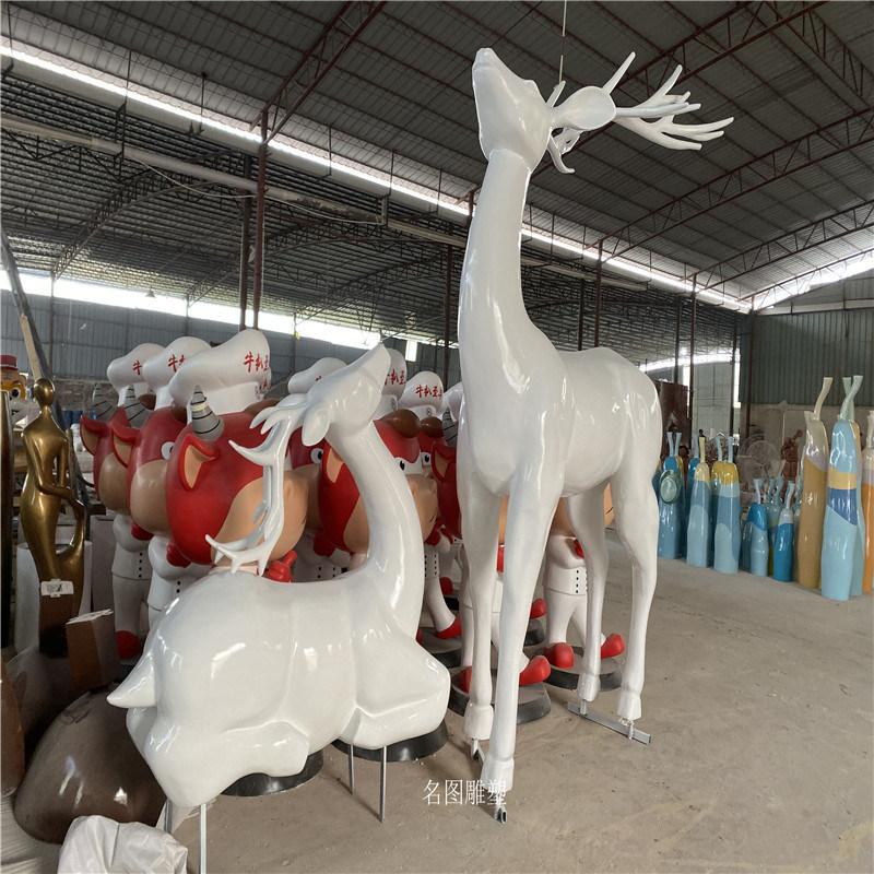 公園動物雕塑 玻璃鋼模擬動物模型