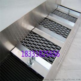 钢板网防护网 铁板菱形钢板防护网 钢板网防护网喷塑