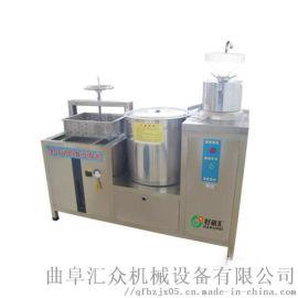 实用的熏豆腐干机器 大型全自动磨豆浆豆腐机 利之健