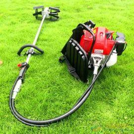 园林割草机背负式电动割灌打草机汽油四冲程除草机