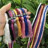 廠家直銷掛繩辮子流蘇繩綁繩服裝輔料繩帽子繩裝飾繩