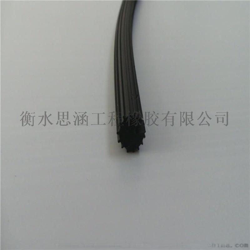 厂家直销 胶条  胶圆条O型 橡胶条 黑色密封条