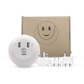 常开科技 智能LED小夜灯 触摸感应led壁灯