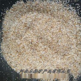 供应草坪填充石英沙 水处理石英砂 喷砂除锈石英砂