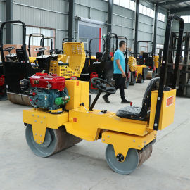 三吨全液压柴油小型压路机 双钢轮小型压路机