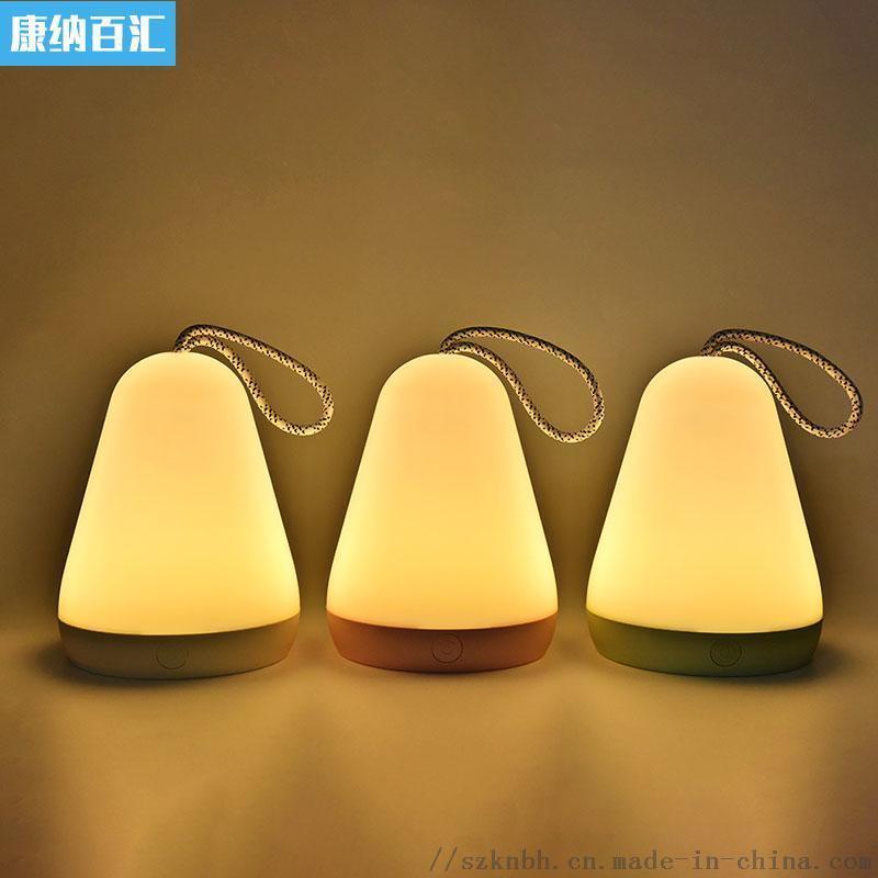 多来米手提灯usb充电LED灯可悬挂应急小夜灯