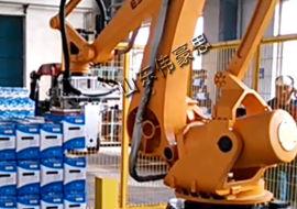 包装箱堆垛机器人 智能机械手码垛设备