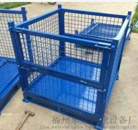 福州金属网箱折叠网箱铁皮箱订制箱