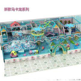 新款高檔淘氣堡  室內淘氣堡 兒童樂園廠家定制