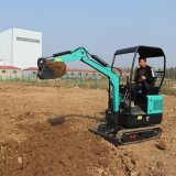 先導式小挖機 洋馬動力小型挖掘機 捷克17履帶挖機