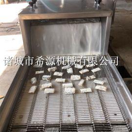天妇罗鱼虾裹浆油炸机 带鱼段上浆上粉油炸流水线