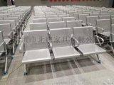 鋼排椅加皮墊耐用不鏽鋼機場車站等候銀行大廳候診長椅