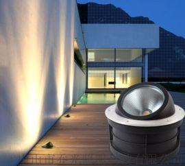 COB偏光LED地埋灯户外防水嵌入式埋地灯