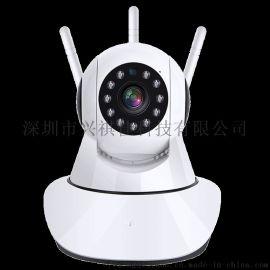 家用智能监控器无线wifi高清夜视360度摄像头