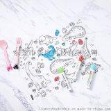 儿童涂鸦餐垫 餐垫 硅胶餐垫 涂鸦餐垫
