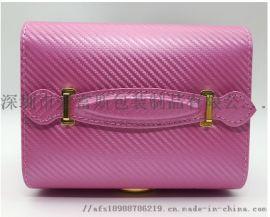 厂家直销品质新款定制珠宝包装盒水红色饰品包装盒收纳盒子首饰盒