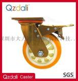 重型PU塑芯脚轮工业脚轮
