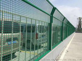 护栏网双边丝护栏网高速公路隔离铁丝网圈地养殖防护网厂家直销