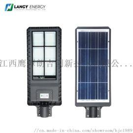 一体化太阳能路灯人体感应新农村扶贫180W庭院灯