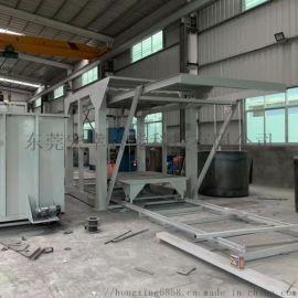 燃气式固溶炉 T4淬火炉 立式固溶炉 连续式铝合金固溶时效炉生产线